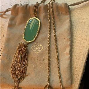 Kendra Scott rayne necklace in chalcedony
